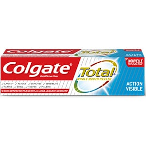 Dentifrice Colgate Total Action Visible